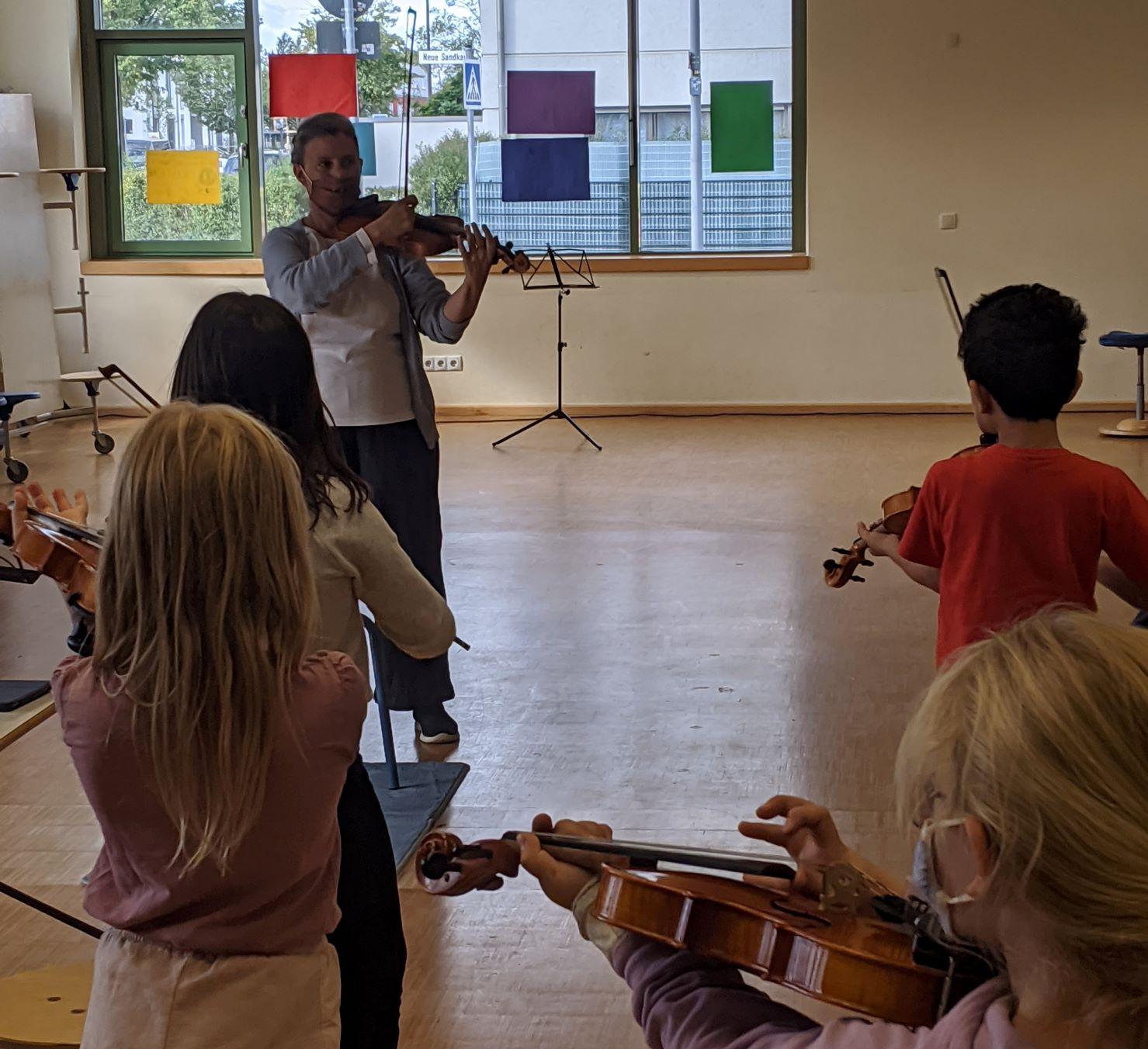 as richtige Instrument und jedes Instrument das richtige Kind