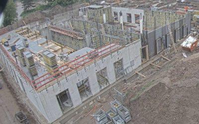 Bau-Update: Der Fortschritt der Bauarbeiten auf dem CIS/IFK neuen Schulcampus